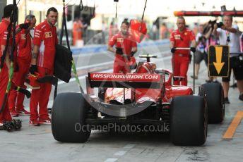 World © Octane Photographic Ltd. Formula 1 – Abu Dhabi GP - Practice 3. Scuderia Ferrari SF71-H – Kimi Raikkonen. Yas Marina Circuit, Abu Dhabi. Saturday 24th November 2018.