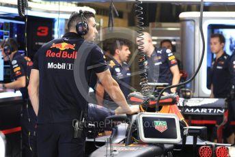 World © Octane Photographic Ltd. Formula 1 – Abu Dhabi GP - Practice 3. Aston Martin Red Bull Racing TAG Heuer RB14 – Daniel Ricciardo. Yas Marina Circuit, Abu Dhabi. Saturday 24th November 2018.