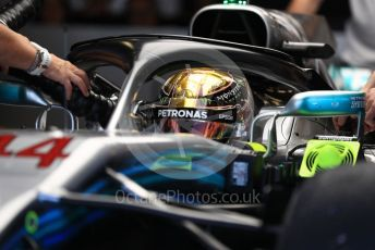 World © Octane Photographic Ltd. Formula 1 –  Abu Dhabi GP - Practice 3. Mercedes AMG Petronas Motorsport AMG F1 W09 EQ Power+ - Lewis Hamilton. Yas Marina Circuit, Abu Dhabi. Saturday 24th November 2018.