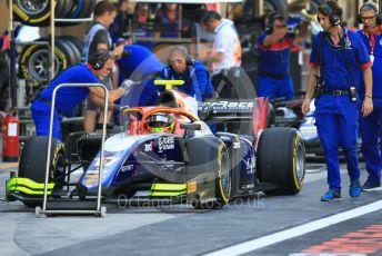 World © Octane Photographic Ltd. FIA Formula 2 (F2) – Abu Dhabi GP - Practice. Trident - Alessio Lorandi. Yas Marina Circuit, Abu Dhabi. Friday 23rd November 2018.