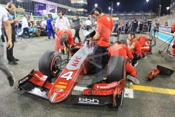 World © Octane Photographic Ltd. FIA Formula 2 (F2) – Abu Dhabi GP - Race 1. Prema Powerteam - Nyck de Vries. Yas Marina Circuit, Abu Dhabi. Saturday 24th November 2018.