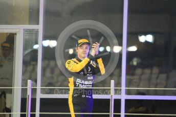World © Octane Photographic Ltd. FIA Formula 2 (F2) – Abu Dhabi GP - Race 1. Russian Time - Artem Markelov. Yas Marina Circuit, Abu Dhabi. Saturday 24th November 2018