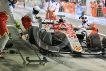 World © Octane Photographic Ltd. FIA Formula 2 (F2) – Abu Dhabi GP - Race 1. Campos Vexatec Racing - Luca Ghiotto. Yas Marina Circuit, Abu Dhabi. Saturday 24th November 2018.