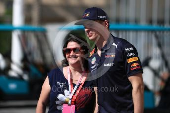 World © Octane Photographic Ltd. Formula 1 –  Abu Dhabi GP - Paddock. Aston Martin Red Bull Racing TAG Heuer RB14 – Max Verstappen. Yas Marina Circuit, Abu Dhabi. Friday 23rd November 2018.