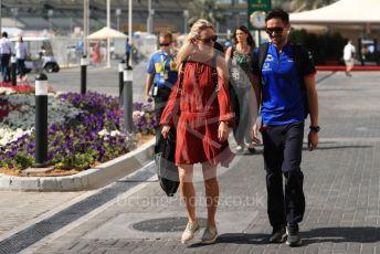 World © Octane Photographic Ltd. Formula 1 –  Abu Dhabi GP - Paddock. Sarah Hartley. Yas Marina Circuit, Abu Dhabi. Friday 23rd November 2018.