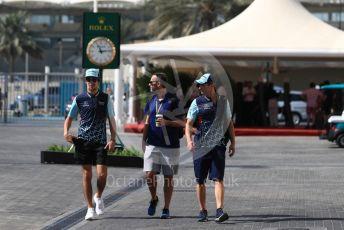 World © Octane Photographic Ltd. Formula 1 – Abu Dhabi GP - Paddock. Williams Martini Racing FW41 – Lance Stroll. Yas Marina Circuit, Abu Dhabi. Friday 23rd November 2018.