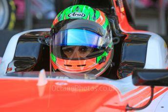 World © Octane Photographic Ltd. GP3 – Abu Dhabi GP – Practice. MP Motorsport - Jehan Daruvala. Yas Marina Circuit, Abu Dhabi. Friday 23rd November 2018.