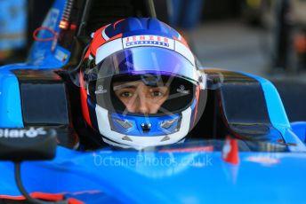 World © Octane Photographic Ltd. GP3 – Abu Dhabi GP – Practice. Jenzer Motorsport - Tatiana Calderon. Yas Marina Circuit, Abu Dhabi. Friday 23rd November 2018.