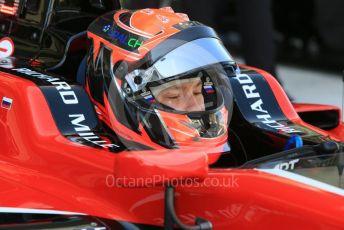 World © Octane Photographic Ltd. GP3 – Abu Dhabi GP – Practice. ART Grand Prix - Nikita Mazepin. Yas Marina Circuit, Abu Dhabi. Friday 23rd November 2018.
