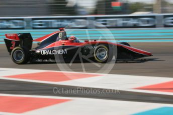 World © Octane Photographic Ltd. GP3 – Abu Dhabi GP – Qualifying. ART Grand Prix - Nikita Mazepin. Yas Marina Circuit, Abu Dhabi. Friday 23rd November 2018.