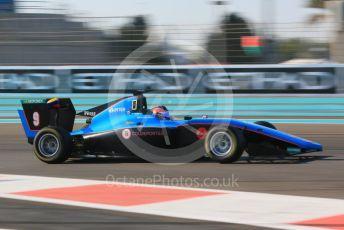 World © Octane Photographic Ltd. GP3 – Abu Dhabi GP – Qualifying. Jenzer Motorsport - Tatiana Calderon. Yas Marina Circuit, Abu Dhabi. Friday 23rd November 2018.