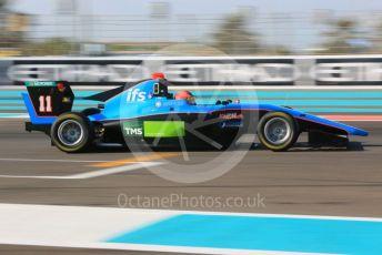 World © Octane Photographic Ltd. GP3 – Abu Dhabi GP – Qualifying. Jenzer Motorsport – Jannes Fittje. Yas Marina Circuit, Abu Dhabi. Friday 23rd November 2018.