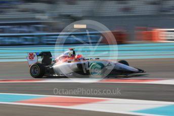 World © Octane Photographic Ltd. GP3 – Abu Dhabi GP – Qualifying. Campos Racing - Diego Menchaca. Yas Marina Circuit, Abu Dhabi. Friday 23rd November 2018.