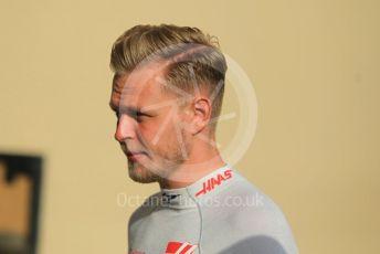 World © Octane Photographic Ltd. Formula 1 – Abu Dhabi GP - Paddock. Haas F1 Team VF-18 – Kevin Magnussen. Yas Marina Circuit, Abu Dhabi. Sunday 25th November 2018.