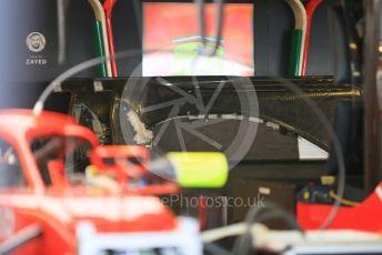 World © Octane Photographic Ltd. Formula 1 –  Abu Dhabi GP - Race day setup. Scuderia Ferrari SF71-H. Yas Marina Circuit, Abu Dhabi. Sunday 25th November 2018.
