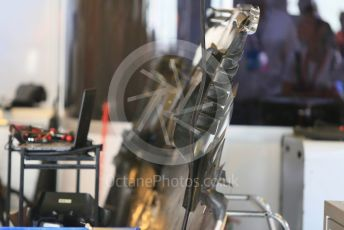 World © Octane Photographic Ltd. Formula 1 –  Abu Dhabi GP - Race day setup. Racing Point Force India VJM11. Yas Marina Circuit, Abu Dhabi. Sunday 25th November 2018.