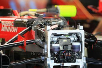 World © Octane Photographic Ltd. Formula 1 – Abu Dhabi GP - Paddock. Scuderia Ferrari SF71-H. Yas Marina Circuit, Abu Dhabi. Thursday 22nd November 2018.