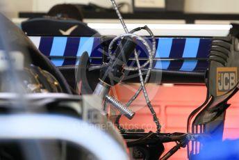 World © Octane Photographic Ltd. Formula 1 – Abu Dhabi GP - Paddock. Williams Martini Racing FW41. Yas Marina Circuit, Abu Dhabi. Thursday 22nd November 2018.