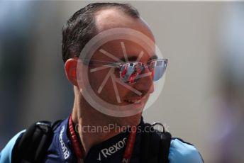 World © Octane Photographic Ltd. Formula 1 – Abu Dhabi GP - Paddock. Williams Martini Racing FW41 – Robert Kubica. Yas Marina Circuit, Abu Dhabi. Thursday 22nd November 2018.