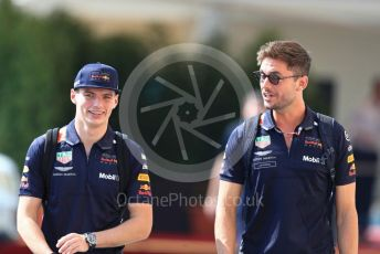 World © Octane Photographic Ltd. Formula 1 –  Abu Dhabi GP - Paddock. Aston Martin Red Bull Racing TAG Heuer RB14 – Max Verstappen. Yas Marina Circuit, Abu Dhabi. Thursday 22nd November 2018.