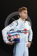 World © Octane Photographic Ltd. Formula 1 – Australian GP - Driver Photo Call. Williams Martini Racing FW41 – Sergey Sirotkin. Albert Park, Melbourne, Australia. Thursday 22nd 2018.