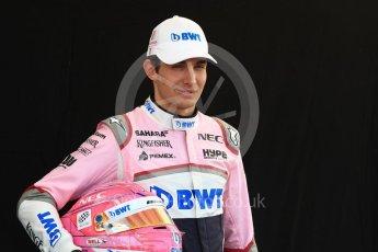World © Octane Photographic Ltd. Formula 1 – Australian GP - Driver Photo Call. Sahara Force India VJM11 - Esteban Ocon. Albert Park, Melbourne, Australia. Thursday 22nd March 2018.