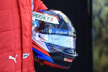 World © Octane Photographic Ltd. Formula 1 – Australian GP - Driver Photo Call. Scuderia Ferrari SF71-H – Kimi Raikkonen. Albert Park, Melbourne, Australia. Thursday 22nd March 2018.