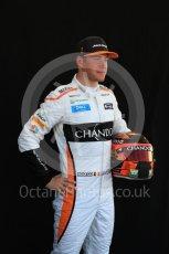 World © Octane Photographic Ltd. Formula 1 – Australian GP - Driver Photo Call. McLaren MCL33 – Stoffel Vandoorne. Albert Park, Melbourne, Australia. Thursday 22nd March 2018.