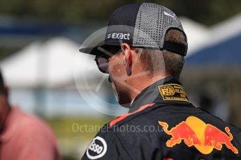 World © Octane Photographic Ltd. Formula 1 – Australian GP - Driver Photo Call. Aston Martin Red Bull Racing TAG Heuer RB14 – Max Verstappen. Albert Park, Melbourne, Australia. Thursday 22nd March 2018.