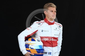 World © Octane Photographic Ltd. Formula 1 – Australian GP - Driver Photo Call. Alfa Romeo Sauber F1 Team C37 – Marcus Ericsson. Albert Park, Melbourne, Australia. Thursday 22nd March 2018.