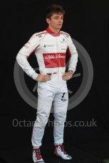 World © Octane Photographic Ltd. Formula 1 – Australian GP - Driver Photo Call. Alfa Romeo Sauber F1 Team C37 – Charles Leclerc. Albert Park, Melbourne, Australia. Thursday 22nd March 2018.