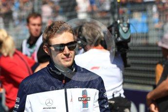 World © Octane Photographic Ltd. Formula 1 – Australian GP - Drivers' Parade. Williams Martini Racing FW41 – Sergey Sirotkin. Albert Park, Melbourne, Australia. Sunday 25th March 2018.