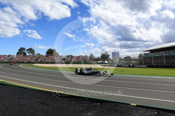 World © Octane Photographic Ltd. Formula 1 – Australian GP - Race. Mercedes AMG Petronas Motorsport AMG F1 W09 EQ Power+ - Lewis Hamilton. Albert Park, Melbourne, Australia. Sunday 25th March 2018.