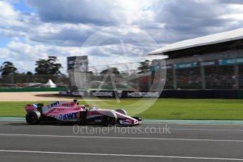 World © Octane Photographic Ltd. Formula 1 – Australian GP - Race. Sahara Force India VJM11 - Sergio Perez. Albert Park, Melbourne, Australia. Sunday 25th March 2018.