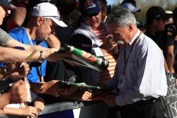 World © Octane Photographic Ltd. Formula 1 - Australian GP - Friday Melbourne Walk. Chase Carey - Chief Executive Officer of the Formula One Group. Albert Park, Melbourne, Australia. Friday 23rd March 2018.