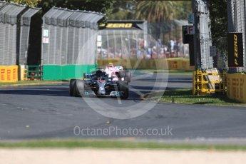 World © Octane Photographic Ltd. Formula 1 – Australian GP - Friday Practice 1. Mercedes AMG Petronas Motorsport AMG F1 W09 EQ Power+ - Lewis Hamilton. Albert Park, Melbourne, Australia. Friday 23rd March 2018.