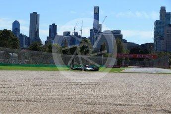 World © Octane Photographic Ltd. Formula 1 – Australian GP - Friday Practice 1. Mercedes AMG Petronas Motorsport AMG F1 W09 EQ Power+ - Valtteri Bottas. Albert Park, Melbourne, Australia. Friday 23rd March 2018.