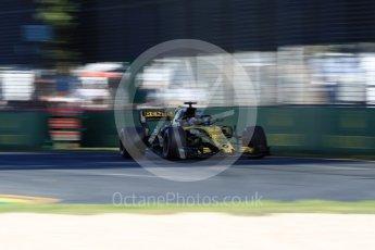 World © Octane Photographic Ltd. Formula 1 – Australian GP - Friday Practice 2. Renault Sport F1 Team RS18 – Nico Hulkenberg. Albert Park, Melbourne, Australia. Friday 23rd March 2018.