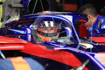 World © Octane Photographic Ltd. Formula 1 – Australian GP - Practice 3. Scuderia Toro Rosso STR13 – Brendon Hartley. Albert Park, Melbourne, Australia. Saturday 24th March 2018.