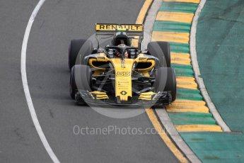 World © Octane Photographic Ltd. Formula 1 – Australian GP - Qualifying. Renault Sport F1 Team RS18 – Carlos Sainz. Albert Park, Melbourne, Australia. Saturday 24th March 2018.