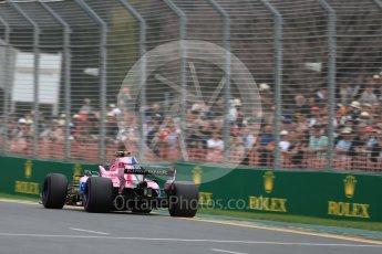World © Octane Photographic Ltd. Formula 1 – Australian GP - Qualifying. Sahara Force India VJM11 - Esteban Ocon. Albert Park, Melbourne, Australia. Saturday 24th March 2018.