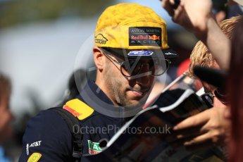 World © Octane Photographic Ltd. Formula 1 – Australian GP - Melbourne Walk. Aston Martin Red Bull Racing TAG Heuer RB14 – Daniel Ricciardo. Albert Park, Melbourne, Australia. Sunday 25th March 2018.