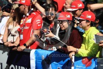 World © Octane Photographic Ltd. Formula 1 – Australian GP - Melbourne Walk. Albert Park, Melbourne, Australia. Sunday 25th March 2018.