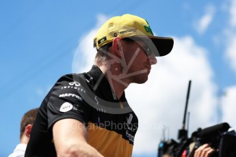 World © Octane Photographic Ltd. Formula 1 – Austrian GP - Drivers Parade. Renault Sport F1 Team RS18 – Nico Hulkenberg. Red Bull Ring, Spielberg, Austria. Sunday 1st July 2018.