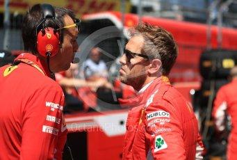 World © Octane Photographic Ltd. Formula 1 – Austrian GP - Grid. Scuderia Ferrari SF71-H – Sebastian Vettel. Red Bull Ring, Spielberg, Austria. Sunday 1st July 2018.