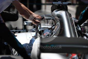 World © Octane Photographic Ltd. Formula 1 – Austrian GP - Grid. Mercedes AMG Petronas Motorsport AMG F1 W09 EQ Power+ - Lewis Hamilton. Red Bull Ring, Spielberg, Austria. Sunday 1st July 2018.