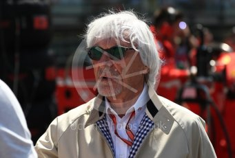 World © Octane Photographic Ltd. Formula 1 - Austrian GP - Grid. Bernie Ecclestone. Red Bull Ring, Spielberg, Austria. Sunday 1st July 2018.