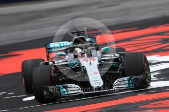 World © Octane Photographic Ltd. Formula 1 – Austrian GP - Practice 1. Mercedes AMG Petronas Motorsport AMG F1 W09 EQ Power+ - Lewis Hamilton. Red Bull Ring, Spielberg, Austria. Friday 29th June 2018.