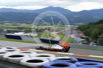 World © Octane Photographic Ltd. Formula 1 – Austrian GP - Practice 1. Haas F1 Team VF-18 – Kevin Magnussen. Red Bull Ring, Spielberg, Austria. Friday 29th June 2018.
