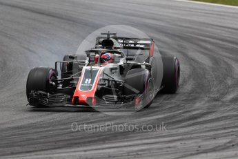 World © Octane Photographic Ltd. Formula 1 – Austrian GP - Practice 2. Haas F1 Team VF-18 – Romain Grosjean. Red Bull Ring, Spielberg, Austria. Friday 29th June 2018.